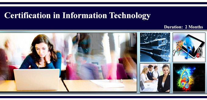 certification in info tech